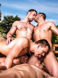 Zander Craze And Stas Landon's Five-Man Orgy